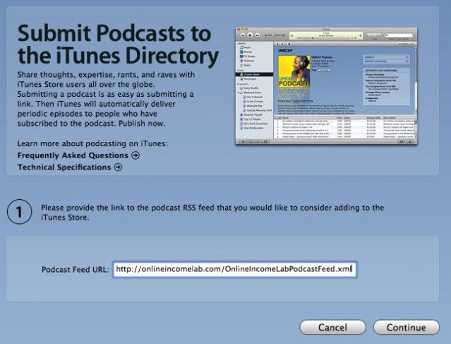 How To Podcast On Itunes Podcasts Itunes Publishing