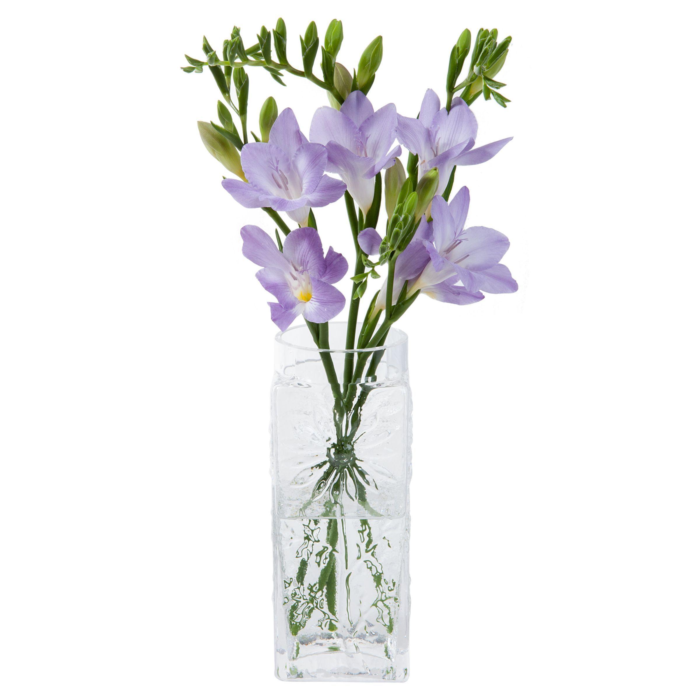 Dartington Crystal Marguerite Large Vase H18 5cm Vase Crystals Glass Vase