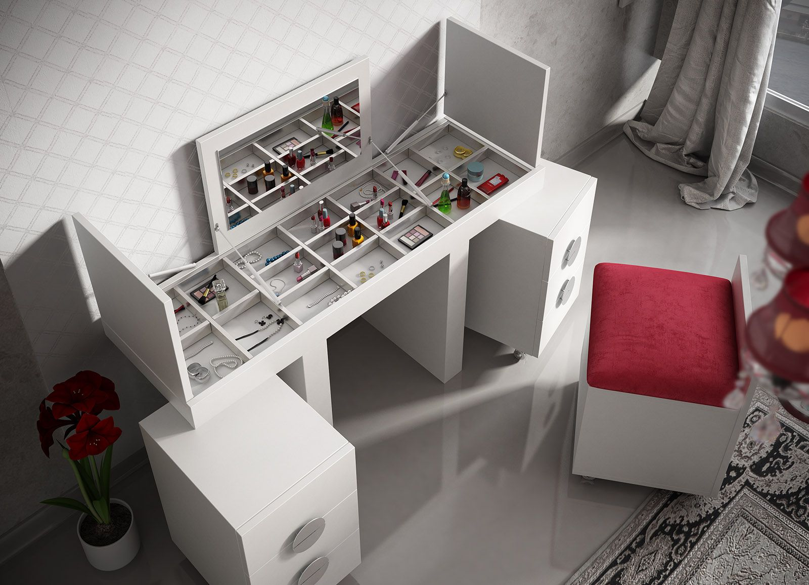 Tocador de franco furniture fabricante de muebles septiembre 2015 proyecto tocador - Fabricante muebles ...