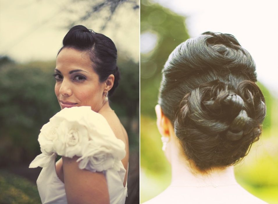 Real Brides, Really Gorgeous Wedding Hair