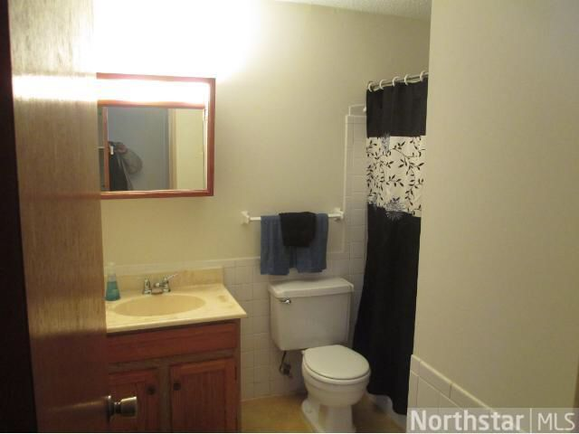 Bathroom before. Cracked plastic yellowed tub surround. | Aldrich ...