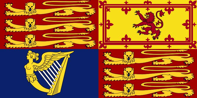 File Royal Standard Of The United Kingdom Svg Royal Standard Flag Flag Royal