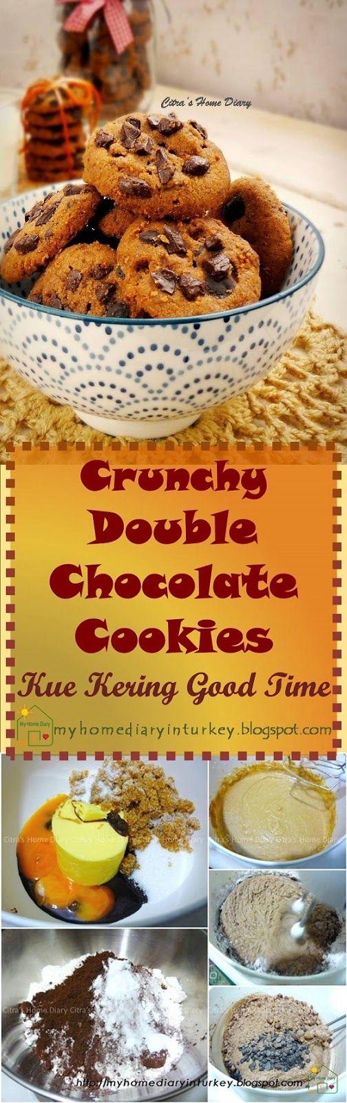 Resep Good Time : resep, Resep, Kering, Crunchy, Double, Chocolate, Cookies, Copycat, Recipe., #goodtim…, Favorite, Dessert, Recipes,, Cookies,, Homemade, Recipes