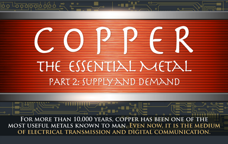 Copper is one of the most widely used metals on the