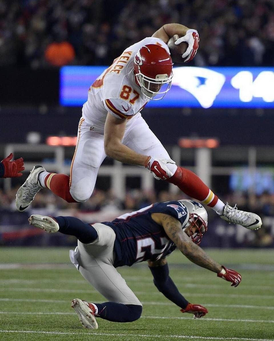 Photo Gallery Patriots 27 Chiefs 20 Kansas City Chiefs Football Kansas City Travis Kelce