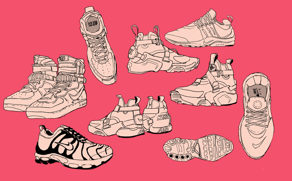 Anime Shoes Drawing Male