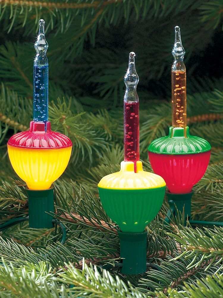 colored bubble lights from the vermont country store retro holiday happiness pinterest. Black Bedroom Furniture Sets. Home Design Ideas