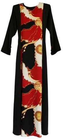 5ad1f1c16c0 Black Abaya Gucci Design