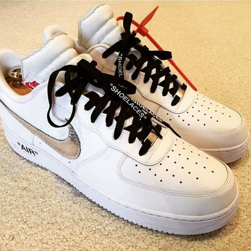 2018 Off White Gucci Nike Air Force 1 Men AF1 Low Shoes White