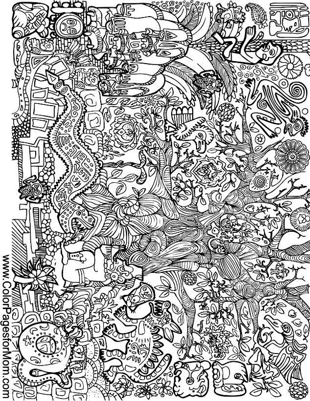 cherokee mandala coloring pages - photo#30