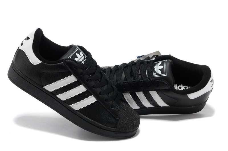 Adidas Superstar Schuhe Schwarz Mode