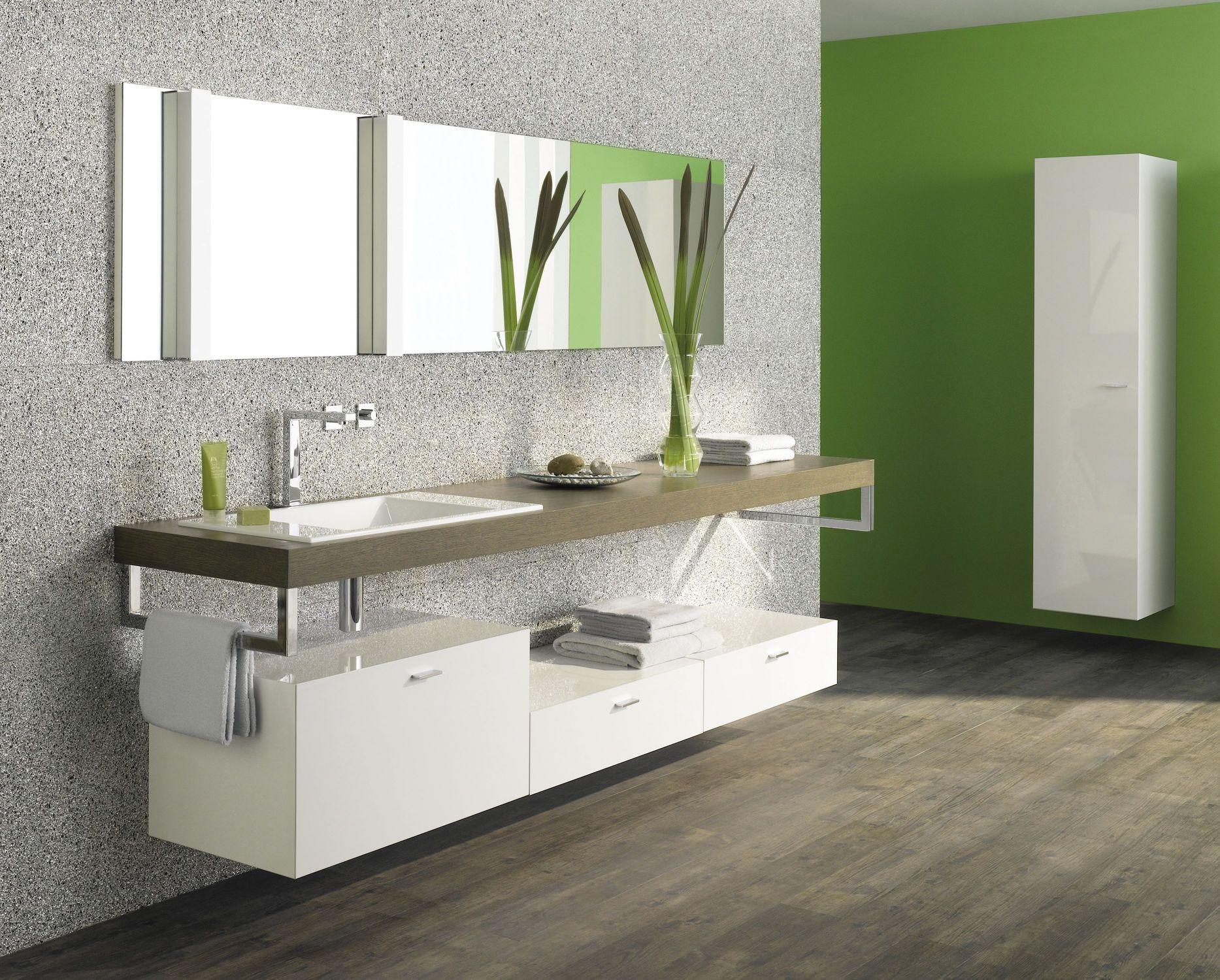 Badschrank Baños Pinterest Floating Vanity Bathroom And - Floating vanities for bathrooms for bathroom decor ideas