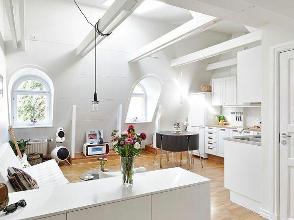 Wohnideen Dachwohnung dachwohnung einrichten 35 inspirirende ideen attic lofts and