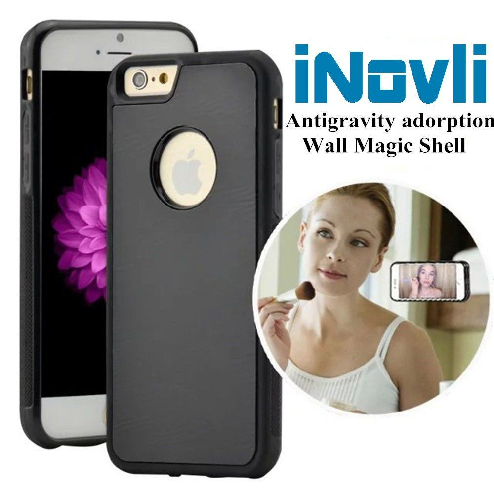 Iphone 7 7s And 7 Plus Anti Gravity Case By Inovli Can Stick To Glass Tile And All Smooth Flat Surfaces With Images Prepaid Phones Anti Gravity Case Phone Cases
