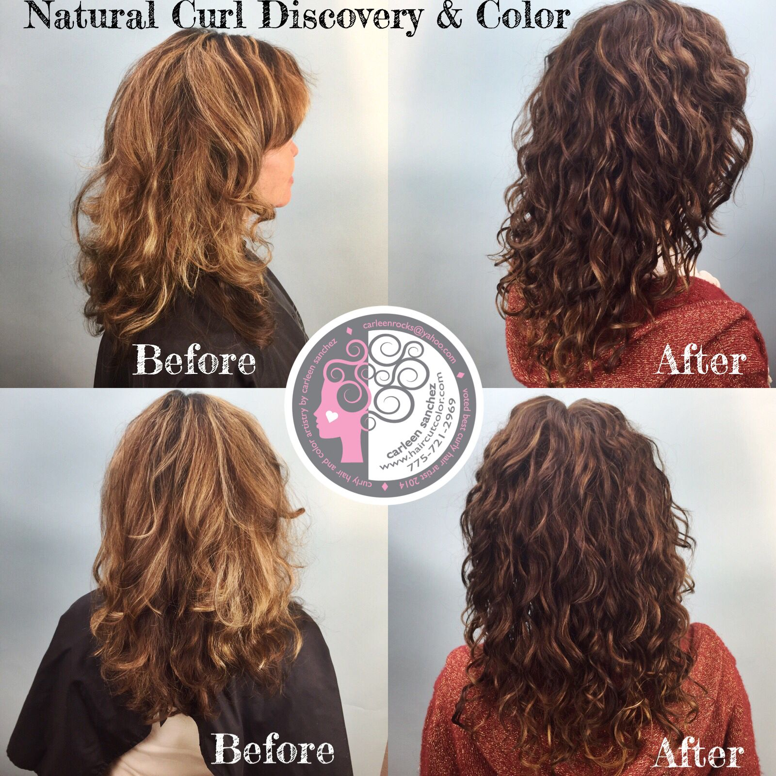 Naturally Curly transformation by Carleen Sanchez Curly Hair and