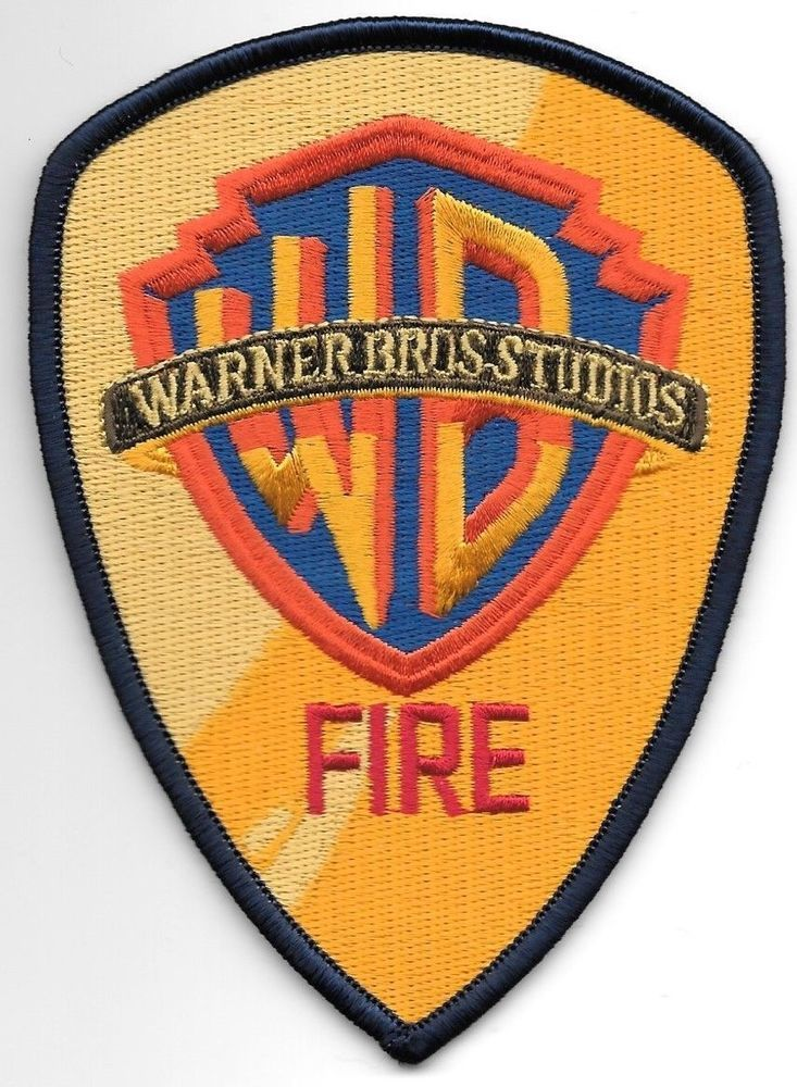 "California fire shoulder police patch 4.75/"" x 4/"" size California City"
