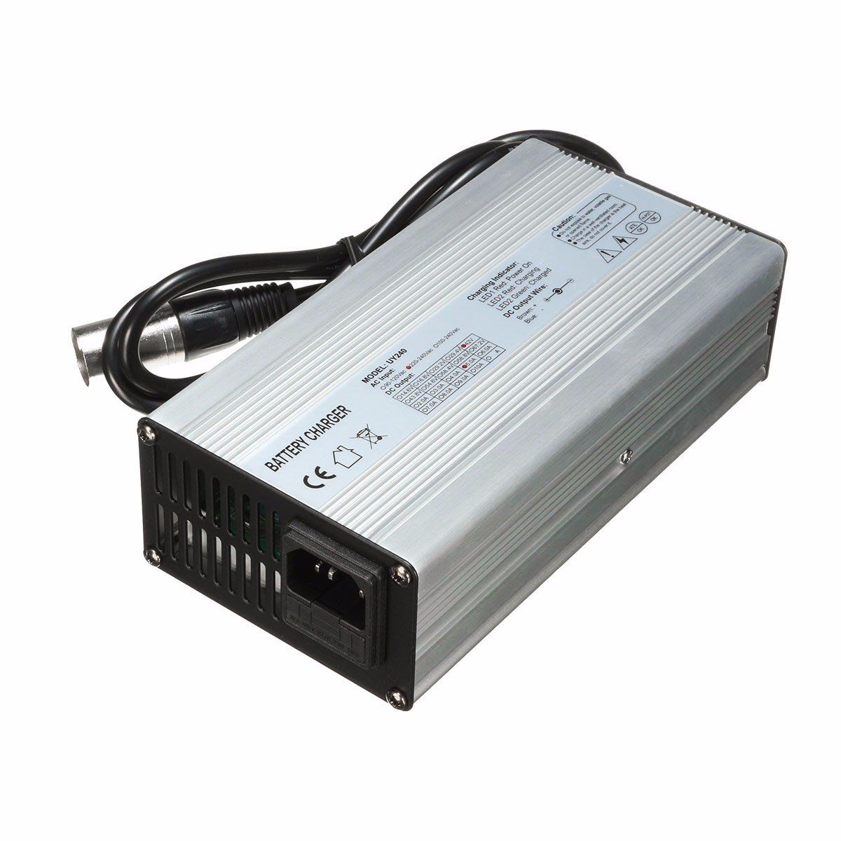 36v 37v 42v 45v 5a Battery Charger For 10s 10x 3 6v 3 7v Lithium Li Ion Battery