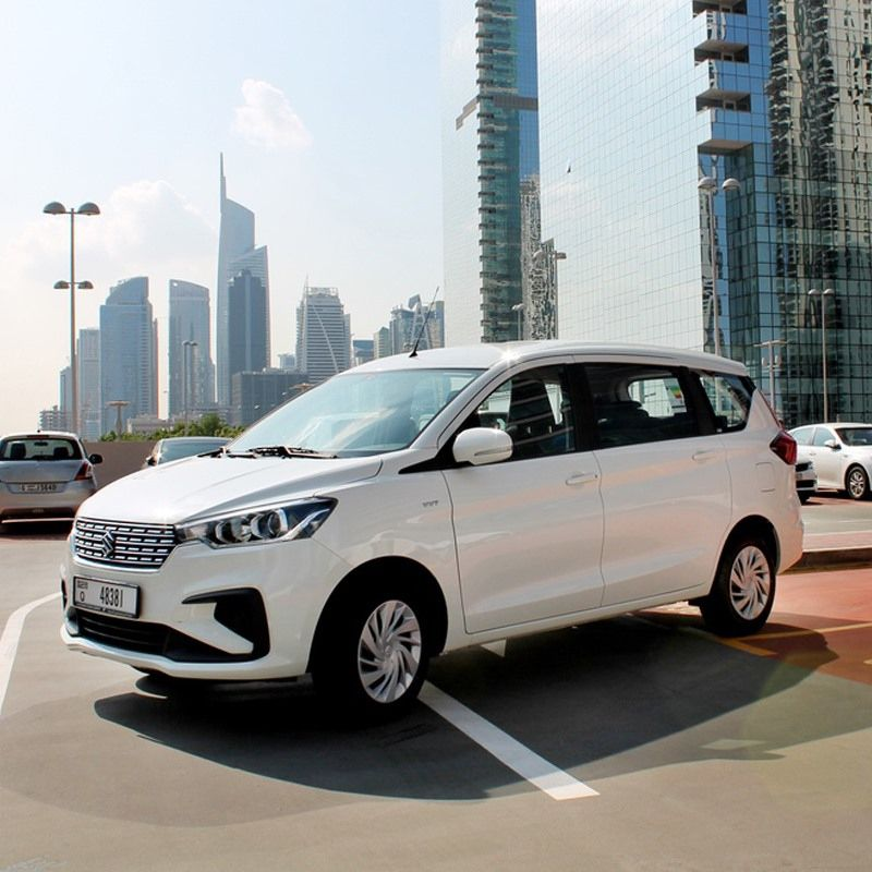Drive The Suzuki Ertiga In Dubai For Only Aed 150 Day Aed 2500 Month This Van Fits 7 Passengers And 2 Medium Sized Bags In 2020 Car Rental Company Car Suzuki