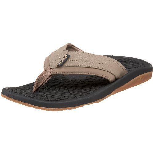 355064348162 Reef Men s Playa Negra Thong Sandal