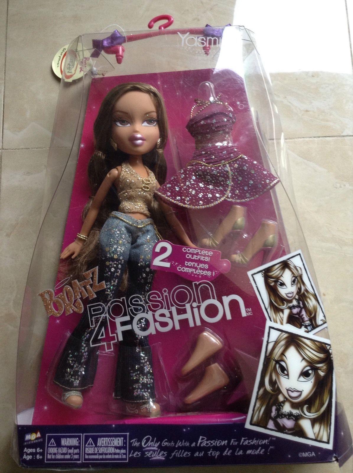 Bratz Passion 4 Fashion Cloe Doll Orange NEW NIB Rare!!
