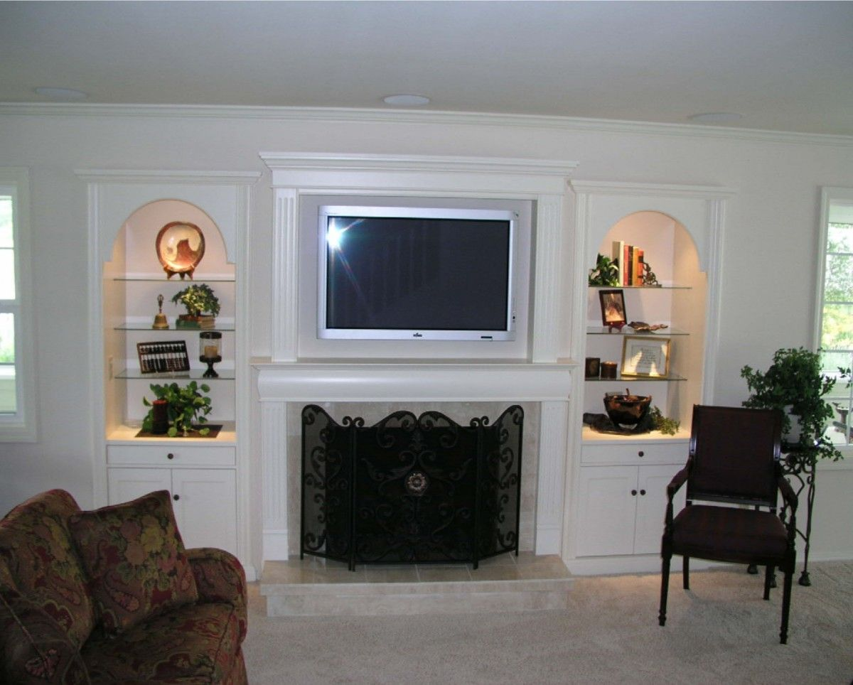 12 excellent built in wall units with fireplace photograph ideas house reno ideas living for Built in units for living room ireland