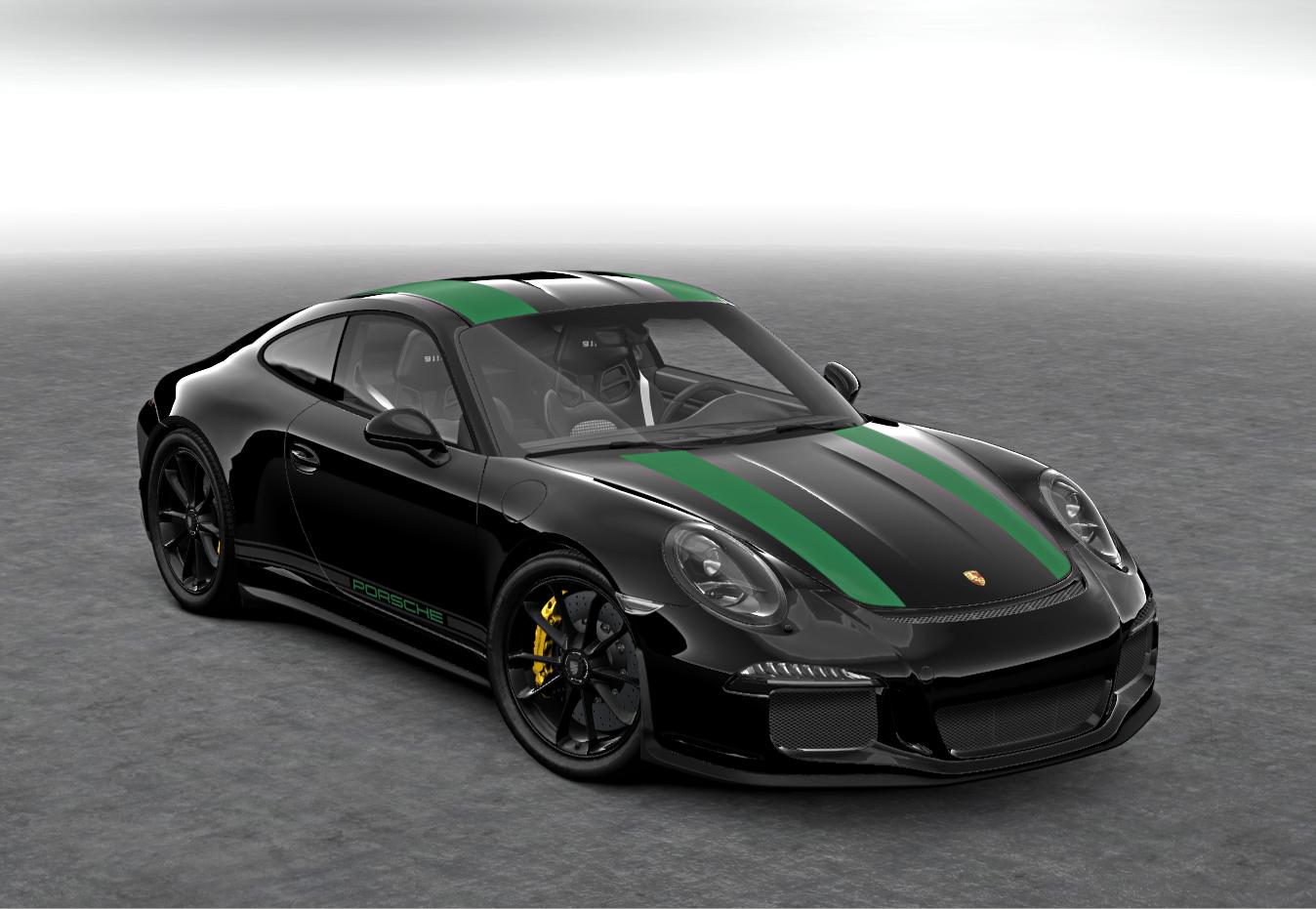 911R black with green. My vote for best R scheme. | Cars | Pinterest ...