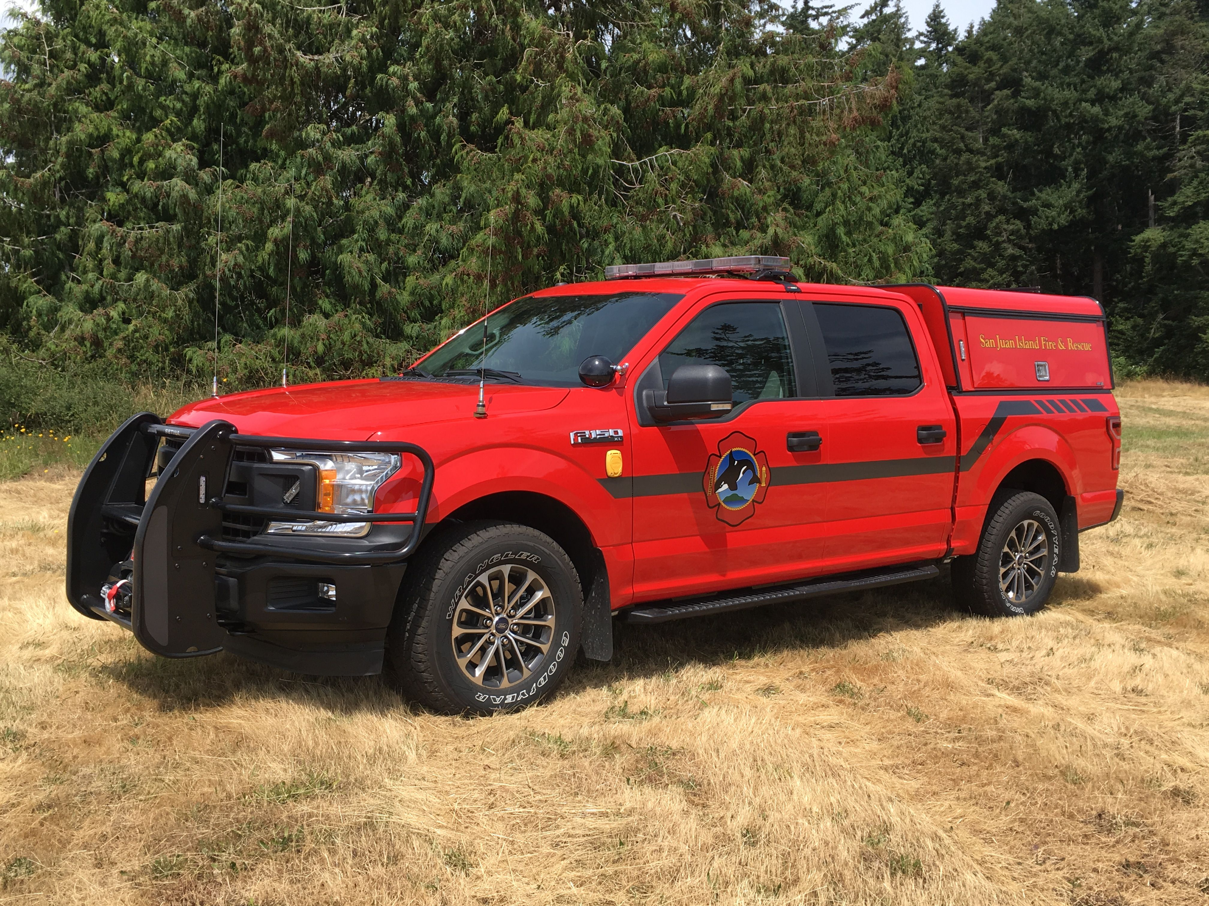 San Juan Island Fire Rescue Incident Command Vehicle 2019 Ford