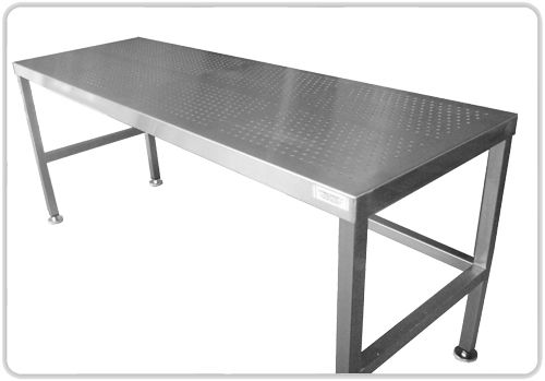 Superb Stainless Steel Kitchen Table For The Sparkling Kitchen Great Ideas