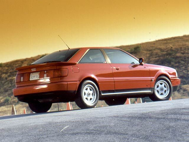 1990 audi coupe quattro - owned two of these. first one met a tragic