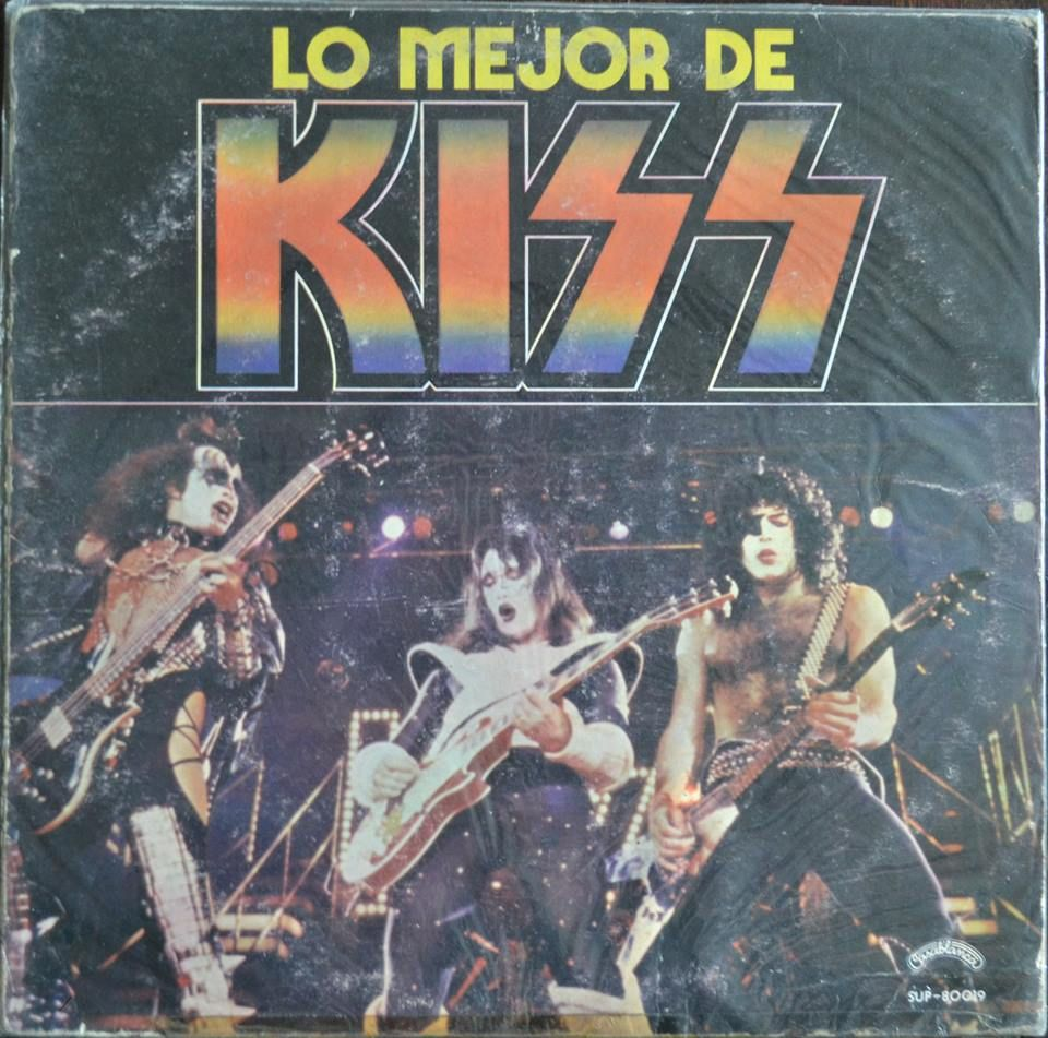 Lo mejor de Kiss Argentina only best of  Pretty hard to find