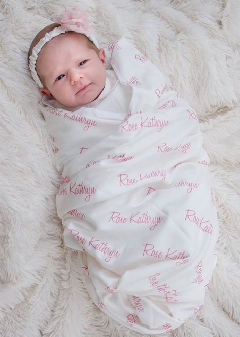 Personalized Swaddle Blanket 100 Organic Cotton Baby Etsy Personalized Swaddle Blanket Organic Cotton Baby Blanket Personalized Swaddle