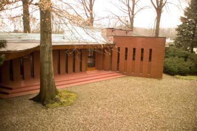 John J Dobkins House 1954 Canton Ohio Usonian Style Frank