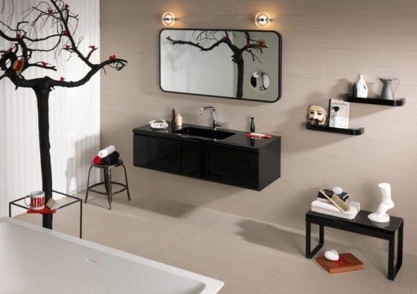 Klassisch Badezimmer Set Regia Schwarz Cover