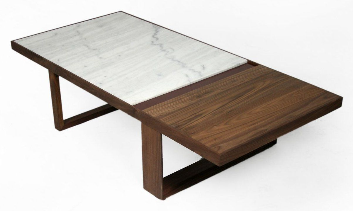 Marble wood coffee table google search diy furniture palm springs coffee table organic modernism marble walnut and lacquer top geotapseo Gallery