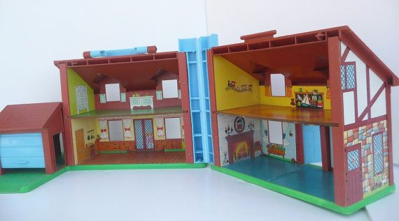Vintage Fisher Price 952 Tudor Dollhouse 80s For Sale By Owner