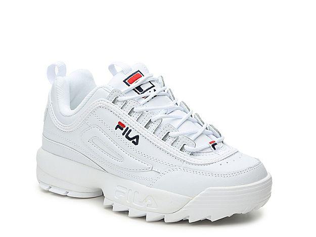 Women Disruptor II Premium Sneaker Women's White   Womens