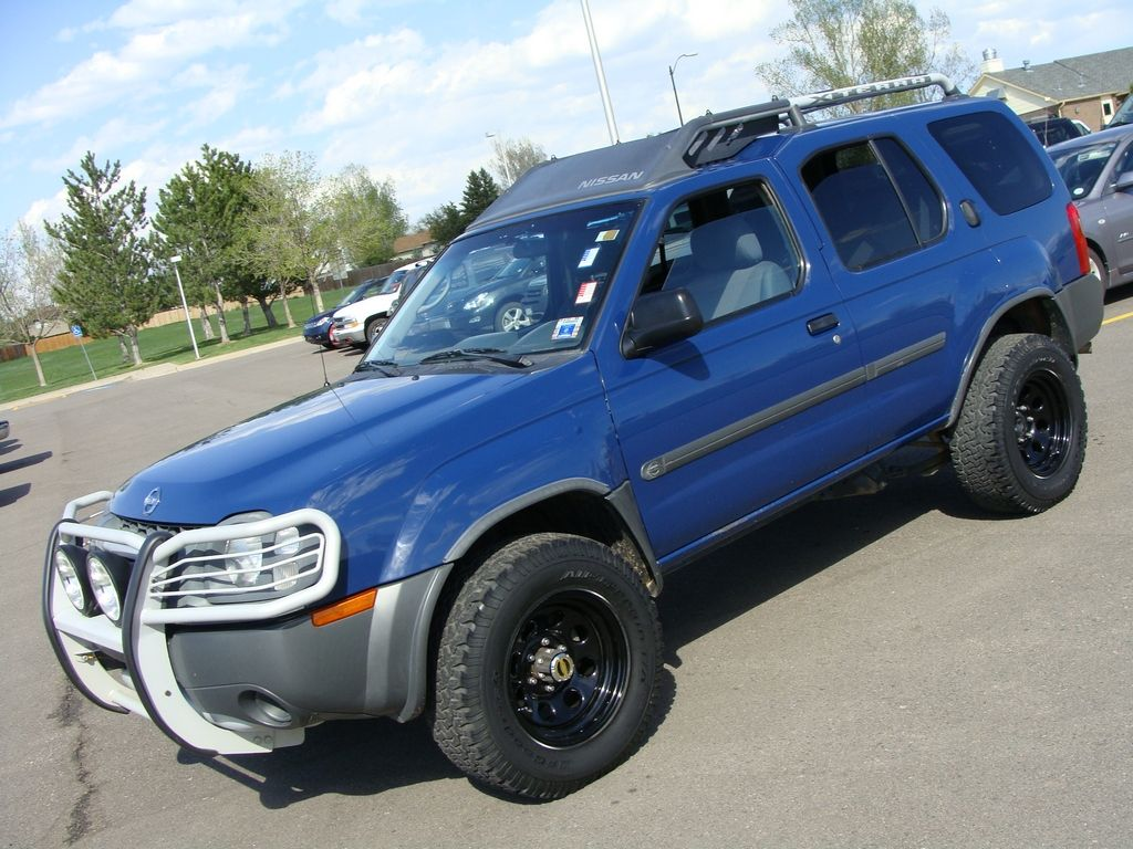 What my nissan xterra would look like with a 2 lift and brush i practically live in my blue nissan xterra vanachro Choice Image