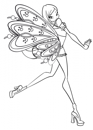 Winx Club Coloring Pages Google Search Coloring Pages Color Faeries
