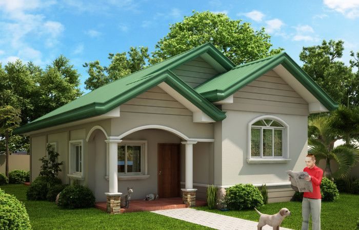 One Story Dream Home Series Odh 2015002 Pinoy Dream Home Source Bungalow Style House Plans Simple House Design Small House Design