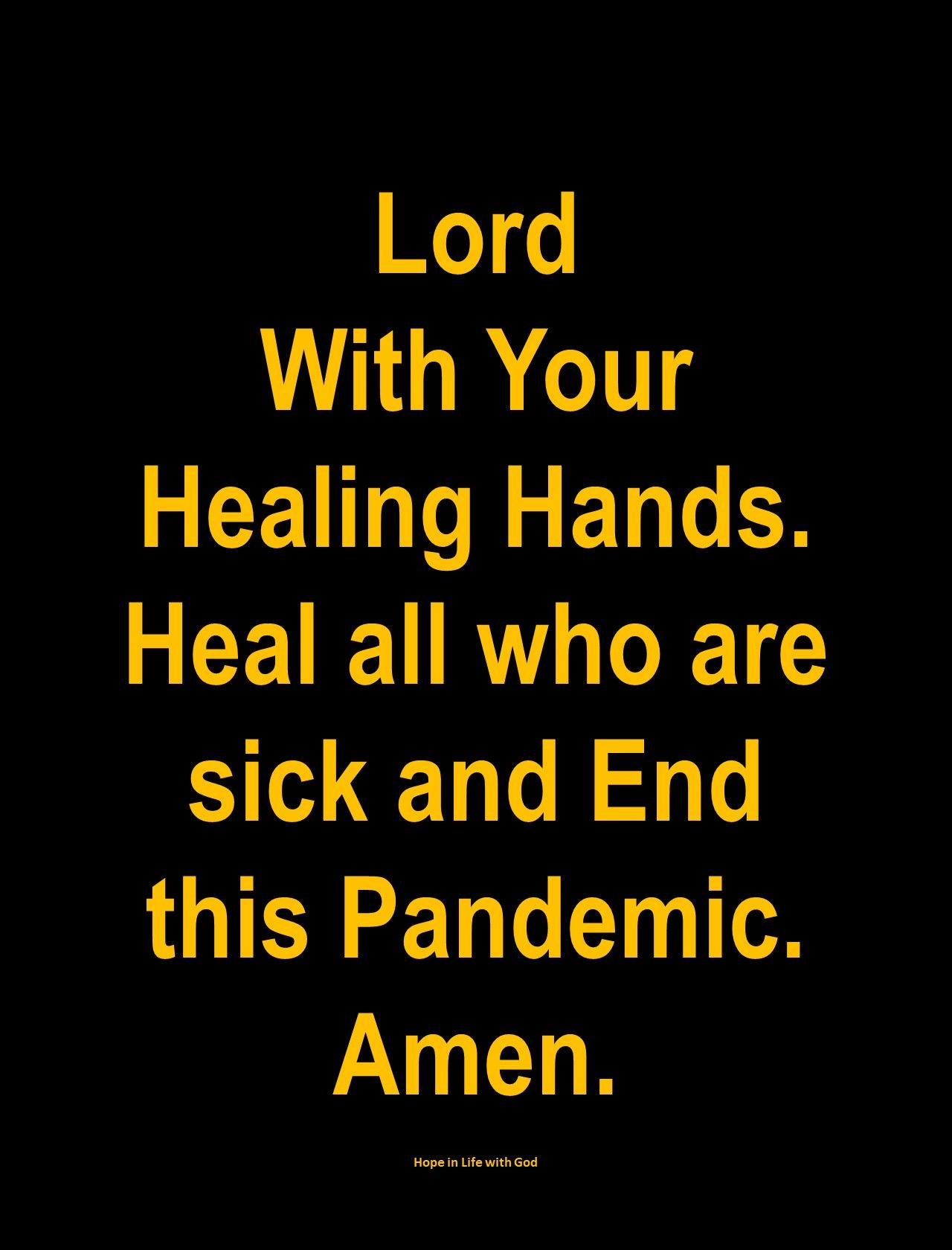 Quote For Healing The Sick