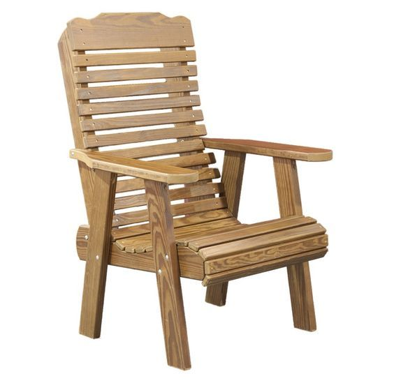 Rustic Style Wooden Lawn Arm Chair Design Idea   Use J/K To Navigate To  Previous And Next Images