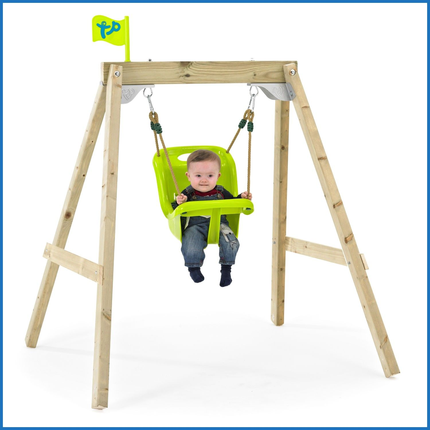 Baby Outdoor Swing With Frame Buethe Org Baby Swing Outdoor