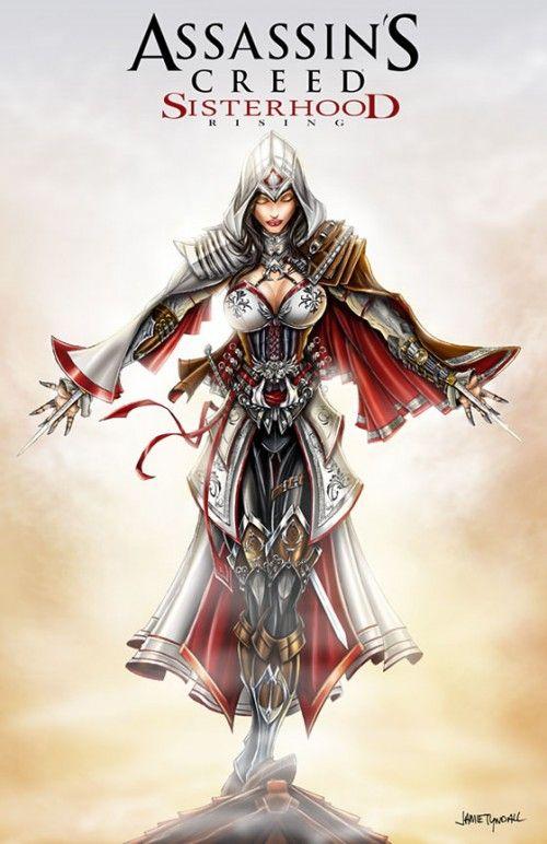 Assassin S Creed Sisterhood By Jamietyndall On Deviantart Assassins Creed Female Assassins Creed Art Assassins Creed