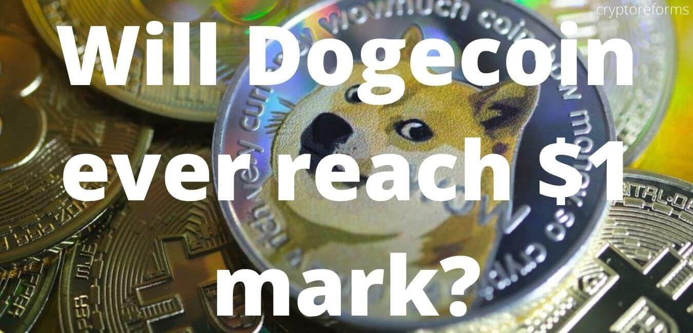 can dogecoin reach $1