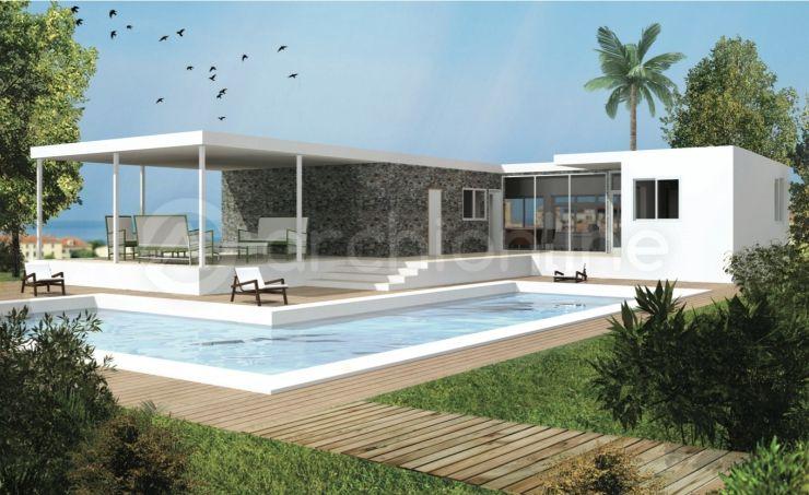 maison heroine plan de maison moderne r alis par les