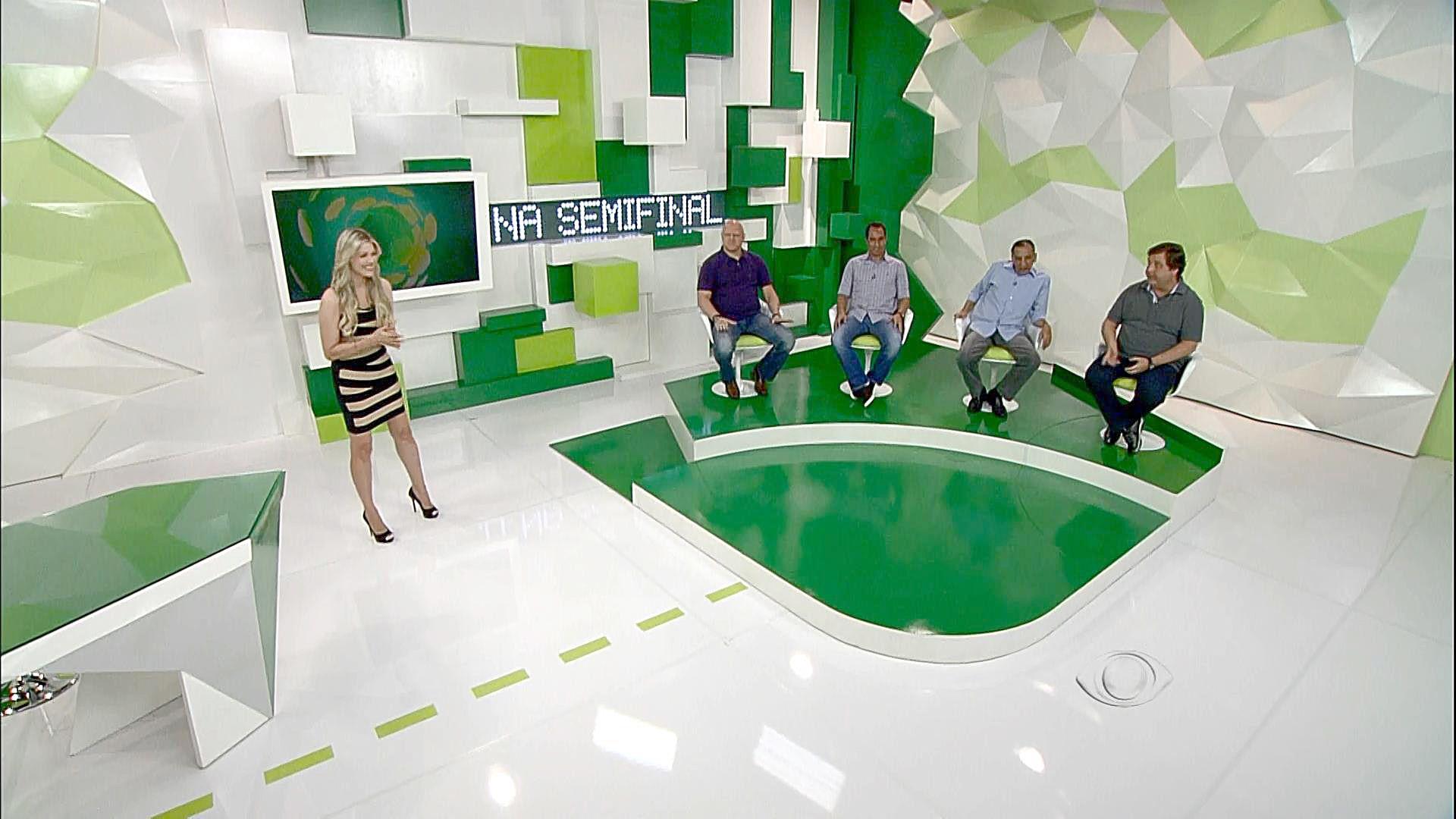 Cenario Programa Jogo Aberto Tv Bandeirantes Cenario Direcao De Arte Cenografia