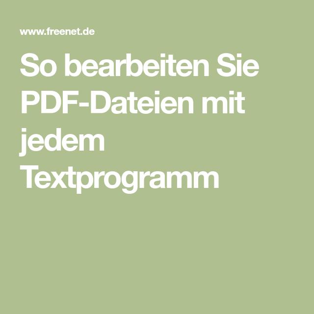 textprogramm