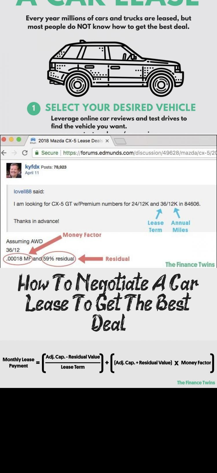 How To Negotiate A Car Lease To Get The Best Deal Car In 2020 Car Lease Lease Negotiation