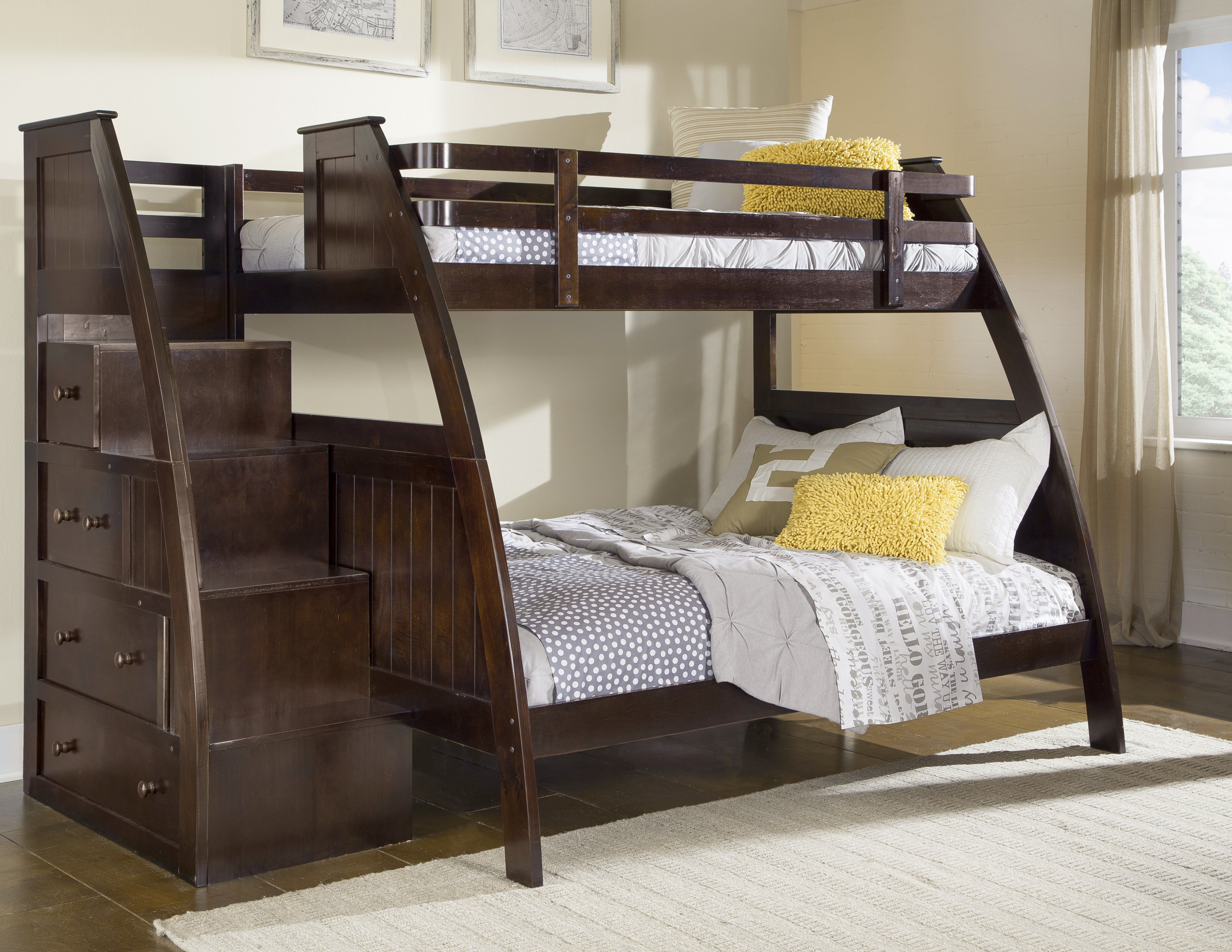 Canwood Overland Twin Over Full Bunk Bed From Hayneedle Com Modern Beds Designs