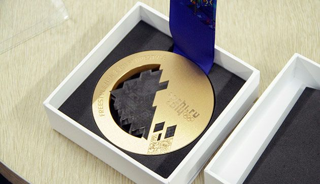 A day in the life of the Sochi 2014 Olympic medals